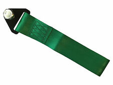 Green tow strap - race track road off road