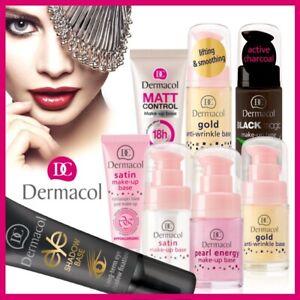 DERMACOL Make-up Base Face Smoothing Foundation Primer Beauty Genuine UK