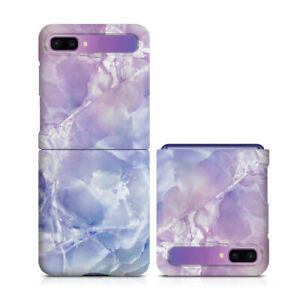 For Samsung Galaxy Z Flip Case Custom Pattern Marble Slim Hard Protective Cover