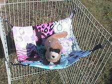 "Ferret Patch Quilt Dream Hammock #2 - 13"" x 13"""