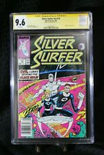 Silver Surfer #15 CGC SS 9.6 - Signed by Ron Lim - New Slab - Newwstand 1988