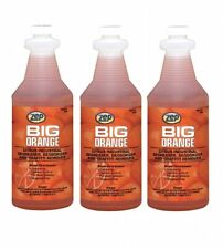 Zep Big Orange Citrus Industrial Degreaser Graffiti Removal 32oz Lot Of 3