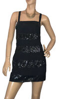 🌻 TOKITO SIZE 10 BLACK SEQUIN DRESS