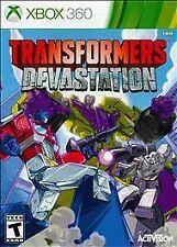 New Sealed Transformers Devastation - Xbox 360 **SLIGHTLY DAMAGE CASE* EL