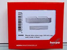 Herpa 053938 - H0 1:87 - Accesorio Parabrisas Volvo sin Logo,Parrilla con Logo