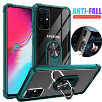 Shockproof Armor Case for Samsung Galaxy S20 S10Plus/S20 Ultra Ring Holder Cover
