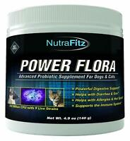 POWER FLORA - Probiotics for Dogs and Cats with 9 Live Strains – Dog Probioti...