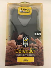 OtterBox Defender Rugged Hard Shell Case-w-Holster-Belt-Clip-for LG-V20 Black