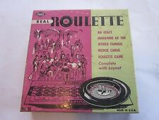 Real Roulette Game in Original package E.S. LOWE CO NY, NY No. 35