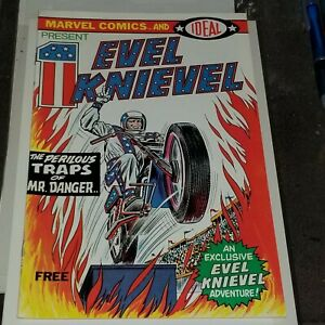 1974 Marvel Comics and Ideal - Evel Knievel #1   9+  Uncertified - VF - NM -