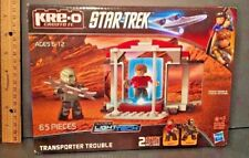 Kre-O STAR TREK Transporter Trouble w SCOTTY & KLINGON Minifigs LIGHT Tech NIB