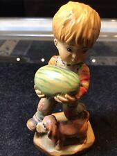 "(Anri) Sarah Kay 4"" From The Garden Boy Watermelon Puppy Mint!"