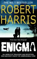 Enigma by Harris, Robert Paperback Book The Fast Free Shipping