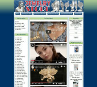 FINE JEWELRY STORE. Work at Home. Affiliate Website Amazon Store+Google