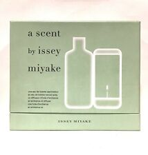 A Scent by Issey Miyake Set 3.3 oz EDT + An Ambience Oil + Diffuser New In Box !