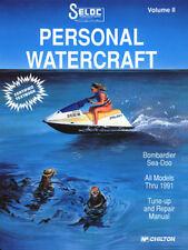 SELOC 9000 REPAIR MANUAL For SEA DOO / BOMBARDIER PWC ENGINE  THRU 1991