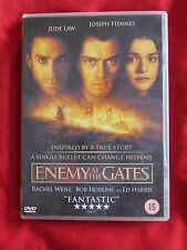 Enemy At The Gates  dvd with Jude Law and Joseph Fiennes