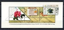 Netherlands 1988 SG#MS1542 Filacept, Flowers MNH M/S #A34680