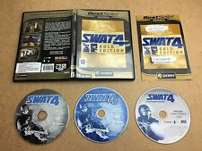 SWAT 4 Gold Edition - PC CD ROM (TESTED/WORKING) UK PAL