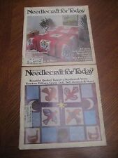 NEEDLECRAFT FOR TODAY MAGAZINE Vintage 1979 2 issues