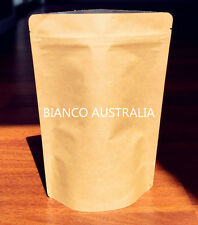 500X 28G(120ML) Stand Up Pouch Zip Lock Bag Kraft Paper Without Window