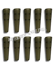 Tail Rubbers For Lead Clips x10 Translucent Green Terminal Tackle Carp Fishing