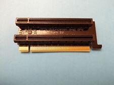 PCIe Bifurcation - PCI Express bifurcated Riser x8x8 dual GPU single Slot left
