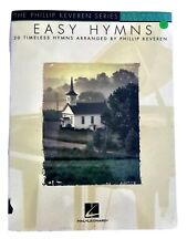 EASY HYMNS: 20 Timeless Hymns Piano Book-arr. Phillip Keveren-BEGINNING PIANO