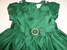 GYMBOREE  CRAZY 8  EMERALD GREEN MAY BIRTHDAY TULLE PARTY DRESS   12  18   MS