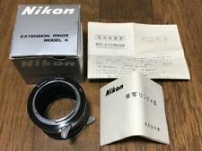 Nikon Extension Ring Model K w/ box manual Japan