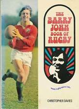 BARRY JOHN BOOK OF RUGBY 1972 SIGNED TO MICHAEL SHEEN - WELSH RUGBY ANNUAL