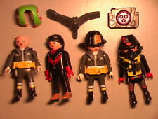 Playmobil VINTAGE 1980's Lot of 45+ METRO CITY Parts/Figures/Instructions LOOK!!