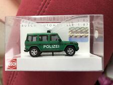 Busch 51410 Mercedes-Benz MB G-Klasse Polizei Bundespolizei OVP 1 : 87 Police