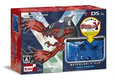 NEW Nintendo 3DS LL XL Pokemon Y Pack Limited Xerneas Yveltal Blue Japan EMS