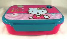 Hello Kitty Microwave Food Container Box Lunch Box School Time