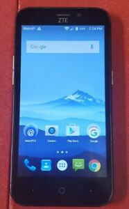 ZTE Avid Trio (Z833) 4GB - Blue (MetroPCS) Smartphone (GSM Unlocked)
