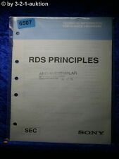 Sony Manual SEC RDS Principles Technical Information (#6507)