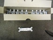 10 NEW PASS & SEYMOUR 660-WG TRADE MASTER TOGGLE SWITCH SINGLE POLE 15A 120VAC