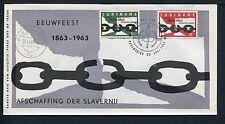 Suriname FDC E26_ 1 M, code 10, blanco met open klep;