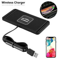 10W Qi Auto Wireless Charger Handy Ladegerät Pad Ladematte für iphone Samsung