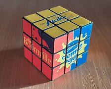 Rare Rubiks Cube 3x3x3 Cadbury's Chocolate Bar Advertising Rubik's Puzzle