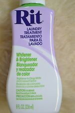 Rit Dye Liquid 8oz Whitener & Brightener 885967885002