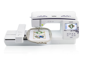 BROTHER NQ1600E Embroidery Machine with 6x10 Hoop, USB, Color Screen and more
