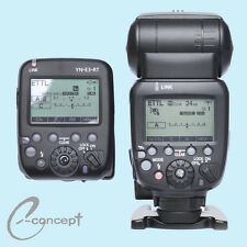 YONGNUO one YN600EX-RT II  flash Speedlite + one YN-E3-RT Controller for Canon