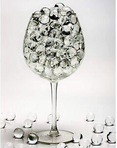 5000 Clear Orbeez Water Aqua Soil Crystal Bio Gel Balls Beads Vase Decoration UK