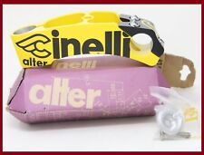 NOS CINELLI ALTER AHEAD THREADLESS STEM ONCE YELLOW BLACK 120mm 1 INCH VINTAGE