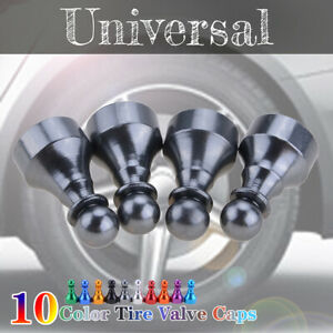Car Tire Tyre Titanium Wheel Air Port Dust Cover Trim Valve Stem Caps Chess