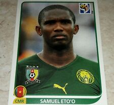 FIGURINA CALCIATORI PANINI SOUTH AFRICA 2010 CAMEROUN ETO'O ALBUM