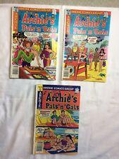 ARCHIE'S PAL'S 'N' GALS COMIC BOOKS