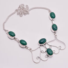 925 Sterling Silver Overlay Necklace, Handmade Gemstone Fashion Jewelry PN716